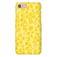 Bee And Flower Pattern