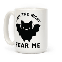 I Am The Night Fear Me Mug