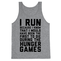 I Run Because Hunger Games