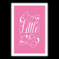 Little Monogram Poster