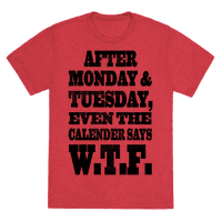 After Monday and Tuesday Even the Caldaner Says W.T.F