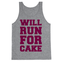 Will Run For Cake