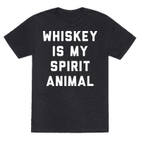 Whiskey Is My Spirit Animal Tee