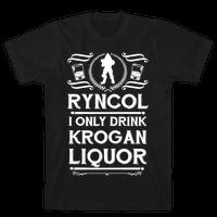 Ryncol I Only Drink Krogan Liquor Parody