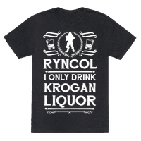 Ryncol I Only Drink Krogan Liquor Parody