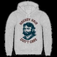 Hockey Hair Dont Care