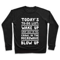 Today's To Do List: Blow Up