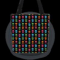 Alien Emoji Pattern