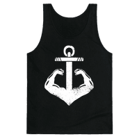Swole Anchor (White Ink)