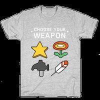 Choose Your Weapon (Mario Bros)