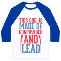 Gunpowder & Lead (Baseball Tee)