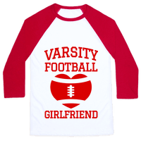Varsity Football Girlfriend (red)