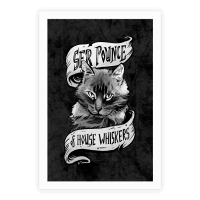 Ser Pounce of House Whiskers Poster