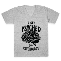 I'm Psyched for Psychology Vneck