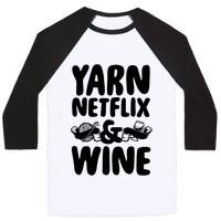 Yarn Netflix & Wine Baseball