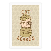Blonde Cat Beards