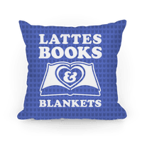 Lattes Books & Blankets