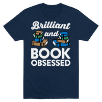 Brilliant And Book Obsessed Tee