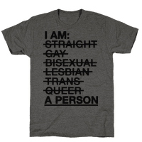 I am a Person Tee