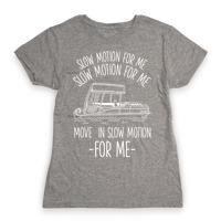 Slow Motion For Me Pontoon Boat Racerback Tank | LookHUMAN