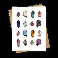 Watercolor Crystal Pattern
