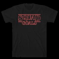 Stranger Squad Goals Parody (Red)