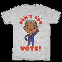 Don't Boo Vote