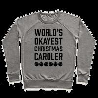 World's Okayest Christmas Caroler