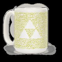 Subtle Triforce Pattern