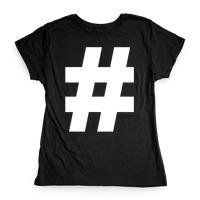 Teeburon Toucan Hashtag Women T-Shirt