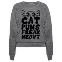 Cat Puns Freak Meowt