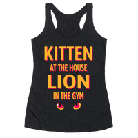 Kitten at Home Lion in the Gym