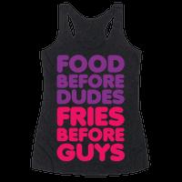 Food Before Dudes