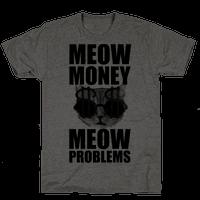 Meow Money. Meow Problems.