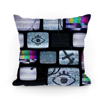 Static Tv Set Pillow