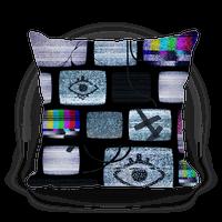 Static Tv Set Pillow