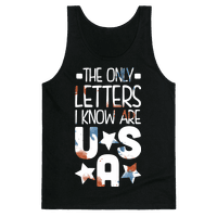The Only Letters Are USA (Dark)