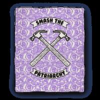 Smash the Patriarchy Blanket