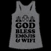 God Bless Emojis & Wifi