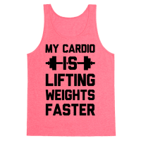 My Cardio Is Lifting Weights Faster