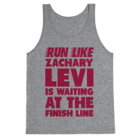Run Like Zachary Levi is Waiting at the Finish Line (pink)