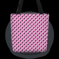 Pink Yin Yang Pattern
