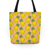Kawaii Pineapple Tote