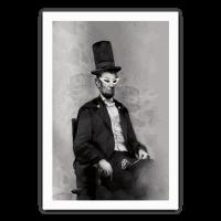 Japanese Abraham Lincoln Poster