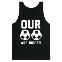 Our Soccer Balls Are Bigger