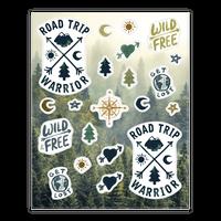 Road Trip Warrior Sticker