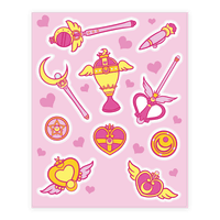 Magical Girl Weapons Sticker