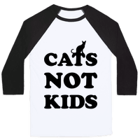 Cats Not Kids Baseball