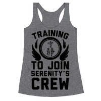 Training to Join Serenity's Crew Racerback