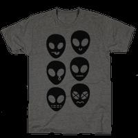 Alien Emojis Tee